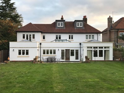 Petersfield complete house refurbishment and Extensions